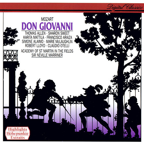 Mozart: Don Giovanni (Highlights) by Sir Neville Marriner