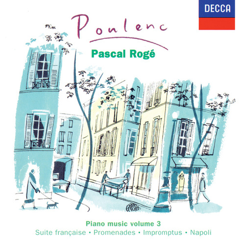 Poulenc: Piano Works Vol. 3 by Pascal Rogé