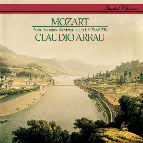 Mozart: Piano Sonatas Nos. 8 & 10 by Claudio Arrau