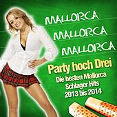 Mallorca Mallorca Mallorca - Party hoch Drei - Die besten Mallorca Schlager Hits 2013 bis 2014 by Various Artists