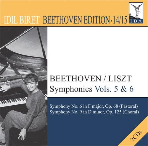 BEETHOVEN, L. van: Symphonies (arr. F. Liszt for piano), Vol. 5, 6 (Biret) - Nos. 6, 'Pastoral' and 9, 'Choral' (Biret Beethoven Edition, Vol. 14, 15) by Idil Biret