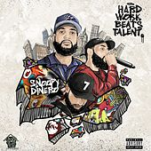 Hard Work Beats Talent by Snoopy Dinero