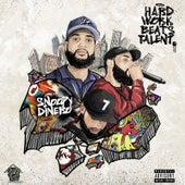 Hard Work Beats Talent von Snoopy Dinero