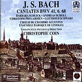 Bach: Cantates With Violoncello Piccolo (BWV 6, 41 & 68) de Christophe Coin
