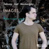 Debussy, Liszt & Moussorgsky: Images de Florian Caroubi