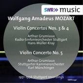 Mozart: Violin Concertos Nos. 3, 4 & 5 by Arthur Grumiaux