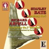 Stanley Bate: Symphony No. 4 & Richard Arnell: Symphony No. 7 by Royal Scottish National Orchestra