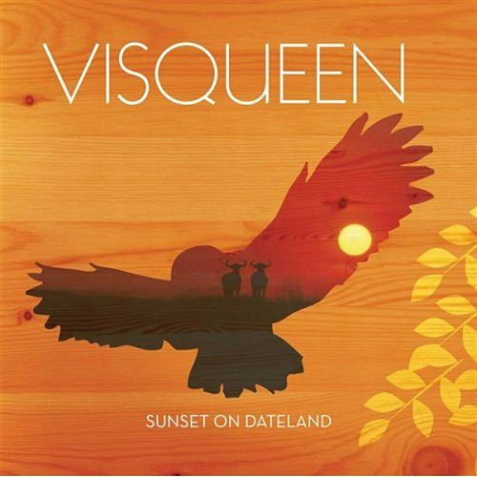Sunset On Dateland by Visqueen