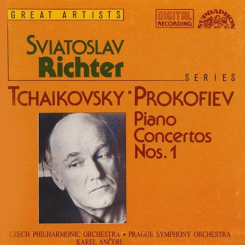 Tchaikovsky: Piano Concerto No. 1 in B flat minor, Prokofiev: Piano Concerto No. 1 in D flat major by Sviatoslav Richter