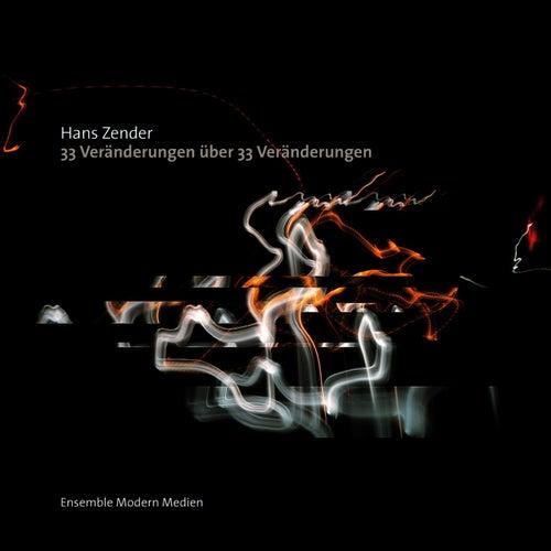 Zender: 33 Veränderungen über 33 Veränderungen (Eine komponierte Interpretation von Beethovens Diabelli-Variationen) by Ensemble Modern