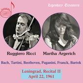 Argerich & Ricci: 1961 Leningrad Recital II by Ruggiero Ricci
