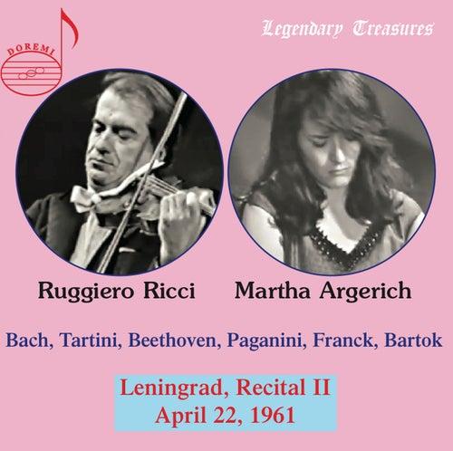 Argerich & Ricci: 1961 Leningrad Recital II von Ruggiero Ricci