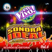 20 Años de Historia Vol. 3. Música de Guatemala para los Latinos (En Vivo) by Marimba Orquesta Sonora Ideal