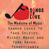 Gannon Loves to Take Selfies, Mickey Mouse and York Haven, Pennsylvania by T. Jones
