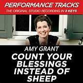 Count Your Blessings Instead Of Sheep (Premiere Performance Plus Track) de Amy Grant
