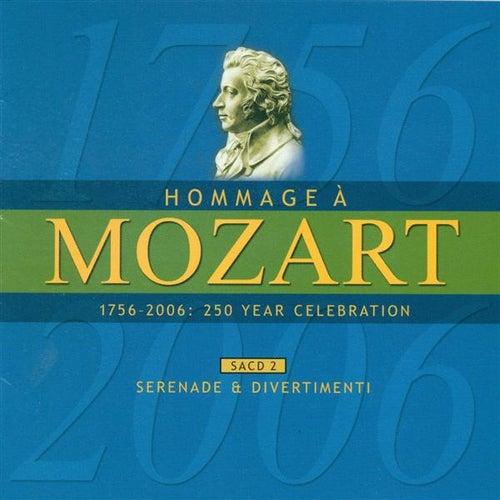 MOZART (A HOMAGE) - 250 YEAR CELEBRATION, Vol. 2 (Serenade and Divertimenti) by Sandor Vegh