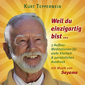 Weil du einzigartig bist ... (Mit klangenergetischer Musik von Sayama) (3 Aufbau-Meditationen für mehr Klarheit & persönlichen Ausdruck) by Kurt Tepperwein