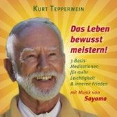Das Leben bewusst meistern! (Mit klangenergetischer Musik von Sayama) (3 Basis-Meditationen für mehr Leichtigkeit & inneren Frieden) by Kurt Tepperwein