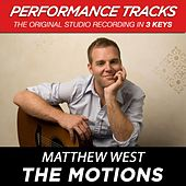 The Motions (Premiere Performance Plus Track) by Matthew West