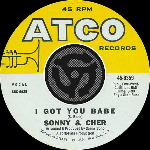 I Got You Babe / It's Gonna Rain [Digital 45] by Sonny and Cher
