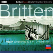 Mozart: Symphonies Nos. 39 & 41; 2 Concert Arias de Benjamin Britten