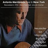 Antonio Membrado Live in New-York by Antonio Membrado