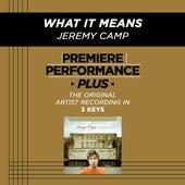 What It Means (Premiere Performance Plus Track) de Jeremy Camp