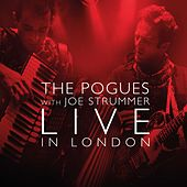Live with Joe Strummer von The Pogues