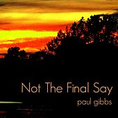 Not the Final Say by Paul Gibbs