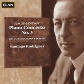 Rachmaninov Piano Concerto No. 3, Solo Works by Chopin & Debussy by Santiago Rodriguez