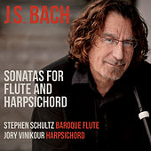 J.S. Bach: Sonatas for Flute & Harpsichord by Stephen Schultz