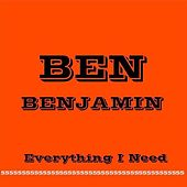 Everything I Need by Ben Benjamin