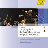 Brahms: Symphony No. 4, Haydn Variations, Op. 56a, Hungarian Dance No. 5 by Schleswig Holstein Festival Orchester