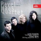 String Quartets /Janacek, Haas/ von Pavel Haas Quartet
