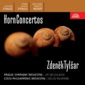 Richard Strauss / Franz Strauss / Mozart:  Horn Concertos by Zdenek Tylsar