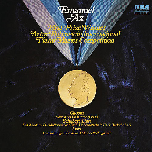Chopin: Sonata No. 3 and Works by Liszt by Emanuel Ax