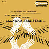 Ravel: Piano Concerto in G Major, M. 83; Bernstein Seven Anniversaries; Coplan: Piano Sonata; Blitzstein: Dusty Sun; Bernstein: I hate music by Various Artists