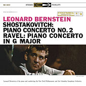 Shostakovitch: Piano Concerto No. 2;  Ravel: Piano Concerto in G Major; Gershwin: Rhapsody in Blue by Leonard Bernstein