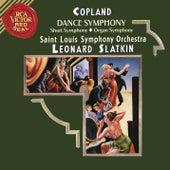 Copland: Dance Symphony & Short Symphony & Organ Symphony von Leonard Slatkin