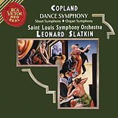 Copland: Dance Symphony & Short Symphony & Organ Symphony de Leonard Slatkin