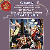 Corigliano: Tournaments & Fantasia on an Ostinato & Elegy & Concerto for Piano and Orchestra von Leonard Slatkin