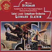 Schumann: Symphony No.10 & New England Triptych & American Festival Overture von Leonard Slatkin