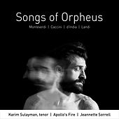 Songs of Orpheus von Various Artists