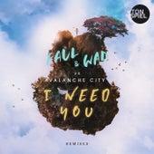 I Need You (Remixes) de Faul & Wad