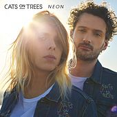 Neon de Cats on Trees
