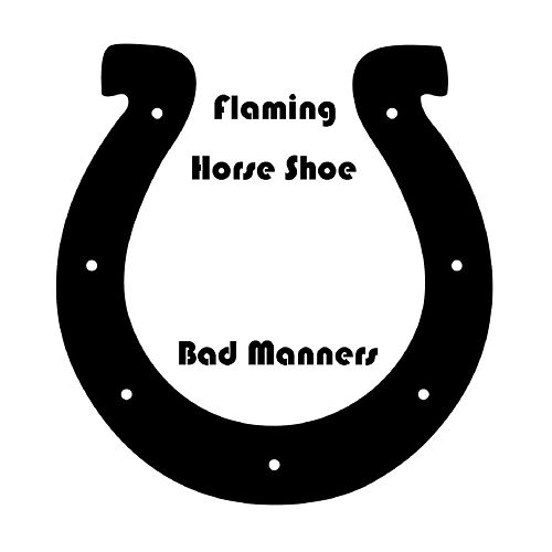 Flamin Horse Shoe by Bad Manners