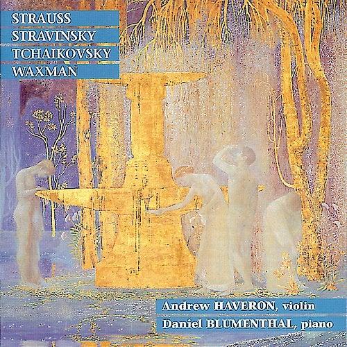 Strauss: Sonata in E-Flat Major - Stravinsky: Divertimento, et al. by Andrew Haveron