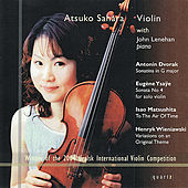 Dvorak: Sonatina in G Major - Ysaÿe: Sonata No. 4 - Matsushita: To the Air of Time, et al. by Atsuko Sahara