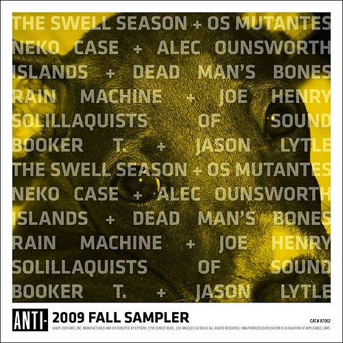 Anti Sampler Fall 2009 by Various Artists