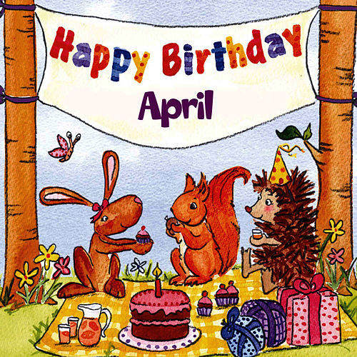 Happy Birthday April By The Birthday Bunch